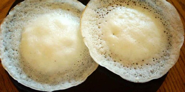 Appam with Thengai Paal – Tamil Breakfast