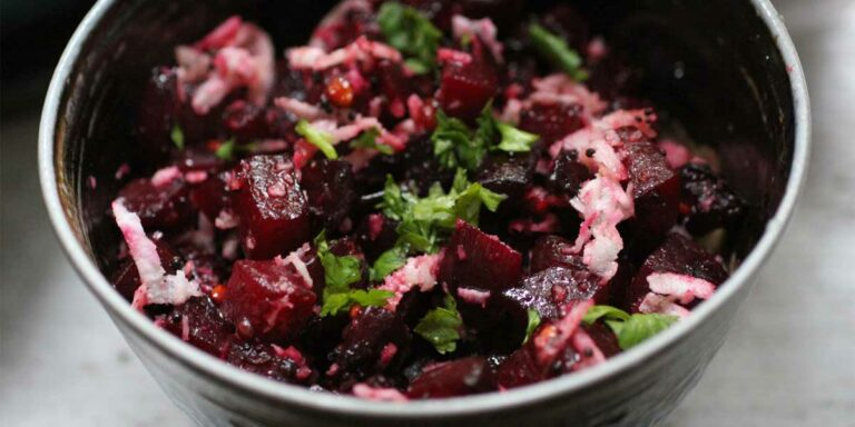 Beetroot Stir Fry – South Indian Warm Salad