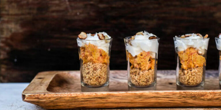 Carrot Halwa Trifle