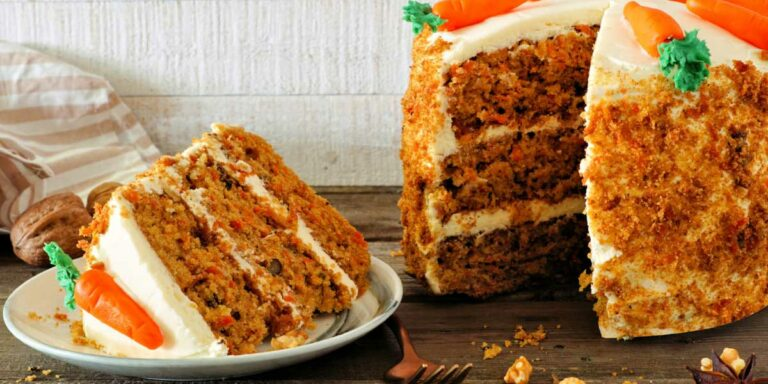 Carrot cake – Simple yet delicious cake for a wedding anniversary