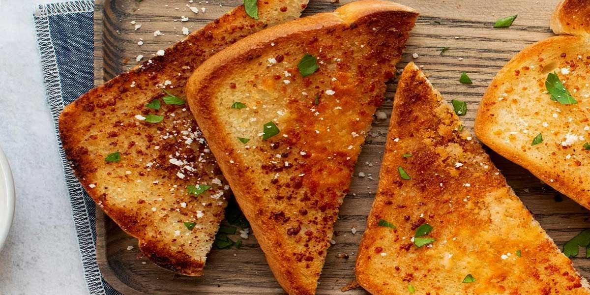 Easy Garlic Bread with Store Bought Bread and Garlic
