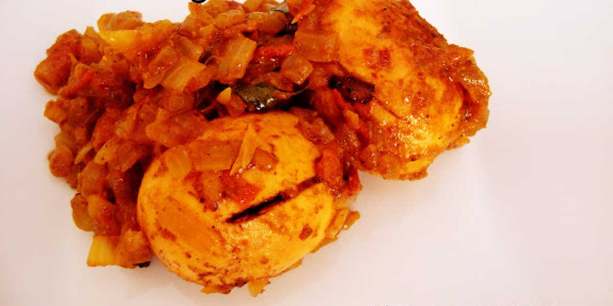 Flavorful Egg Curry with Exoctic Indian Spices