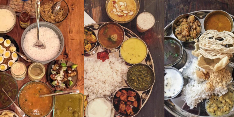 Indian Thali Meals Ideas