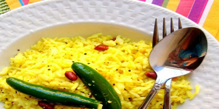 Lemon rice – A South Indian delight