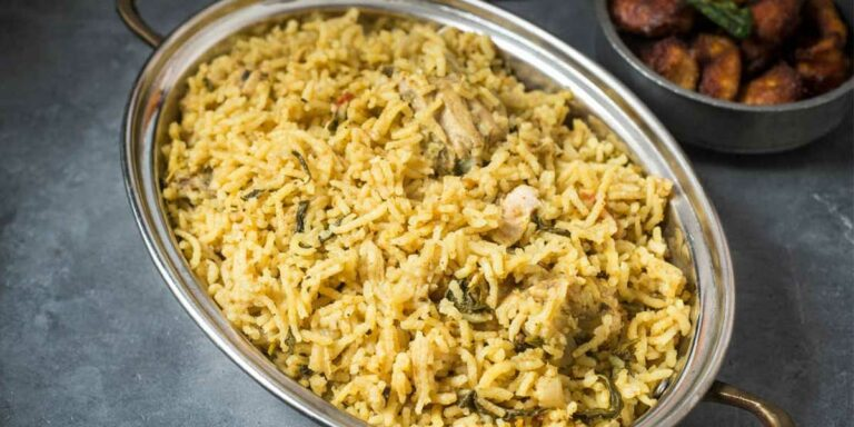 Mother-in-law's Chicken briyani / biryani – Tamil Nadu style recipe