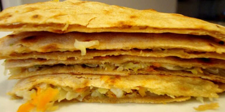 Paratha with Vegetables