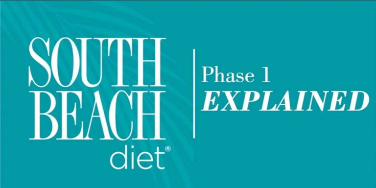 South Beach Diet Phase 1 – Menu ideas from SBD cookbook