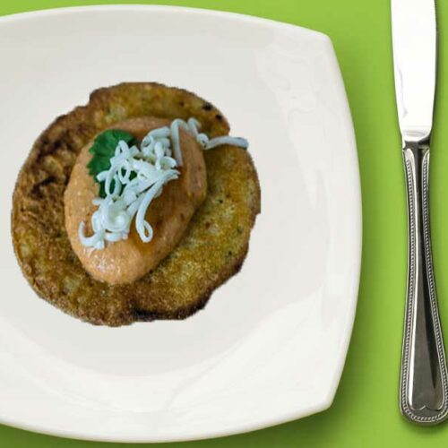 South Indian Adai Served Tapa Style For Your Holiday Party