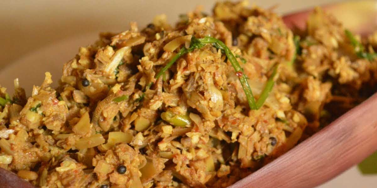 Stir Fried Banana Flower