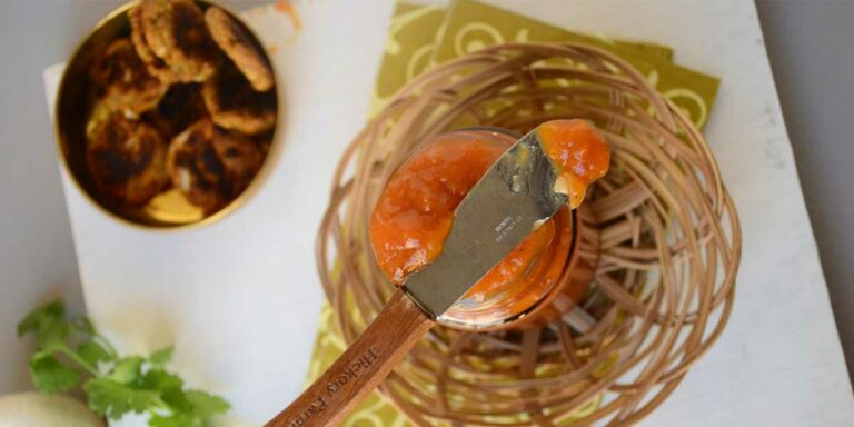 Sweet and spicy apricot chutney – My Indian way