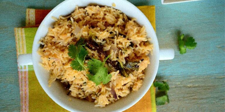 Vegetable Brinji / Birinji Rice