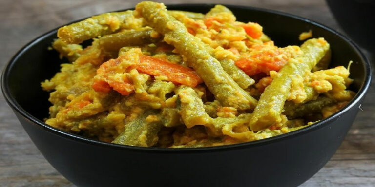 Aviyal – South Indian side made with vegetables and coconut