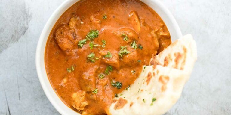 Butter chicken without butter and heavy cream!!! – A true surprise