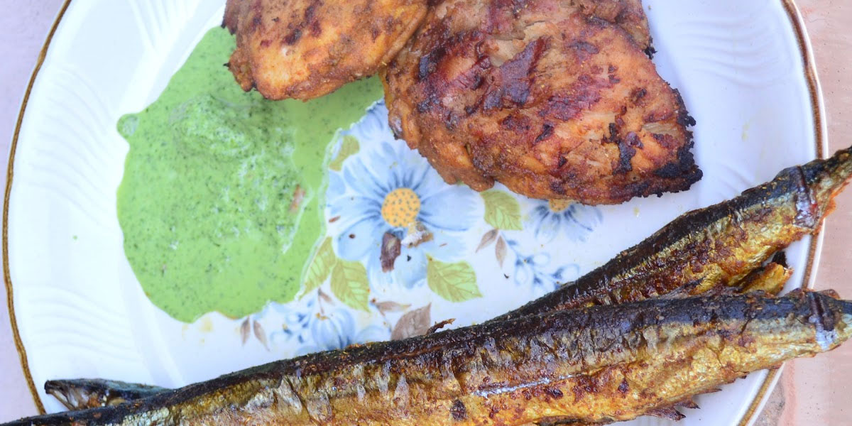 Healthy grilling /BBQ ideas with Indian dishes