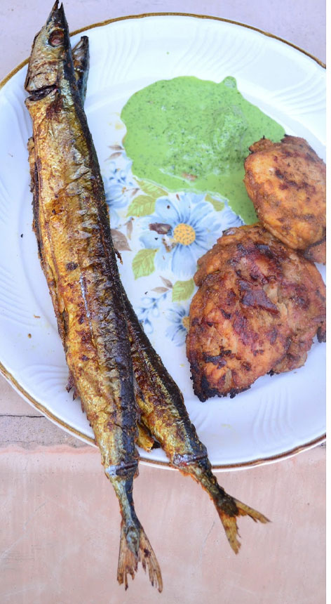 Grilled Mackerel With Indian Spices