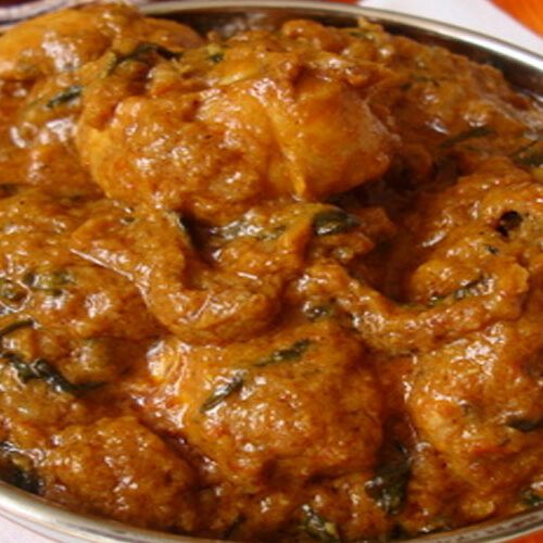 Methi murgh – Chicken Cooked with Fenugreek Leaves