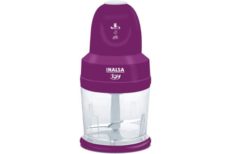 INALSA 4-in-1 Electric Vegetable Chopper