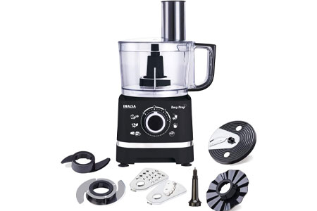 Inalsa Food Processor 800W with Processing Bowl