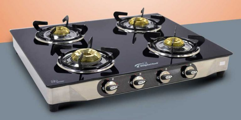 Best 4 Burner Gas Stove In India 2021 – Reviews and Buying Guide