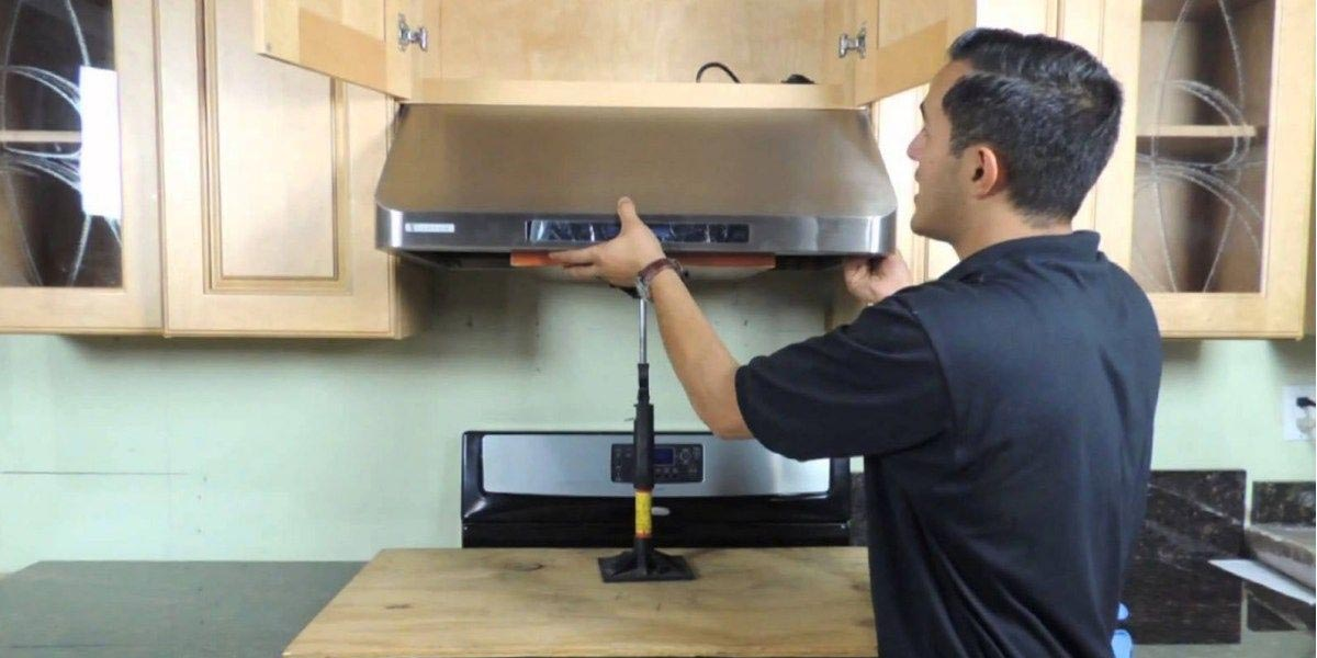 How To Install Chimney In Kitchen